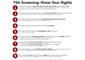Know Your TSA Rights